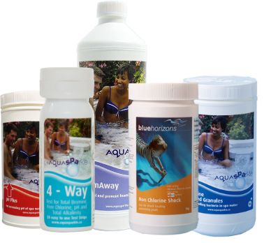 Spa and Hot Tub Water Treatments